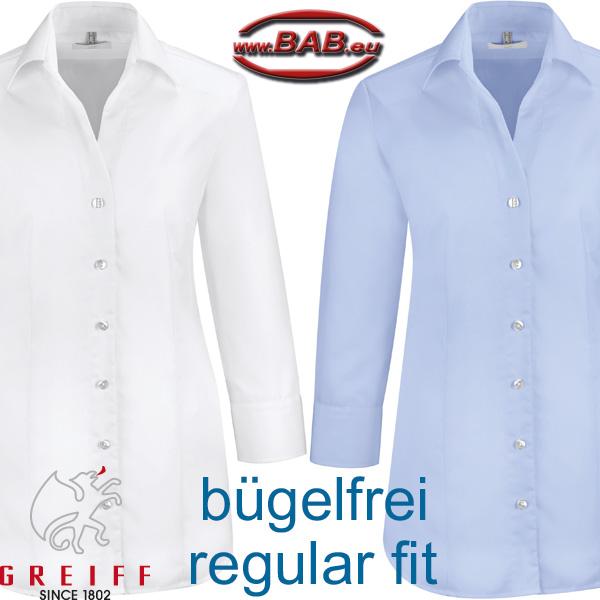 greiff premium 6520 damen bluse mit 3 4 arm b gelfrei. Black Bedroom Furniture Sets. Home Design Ideas