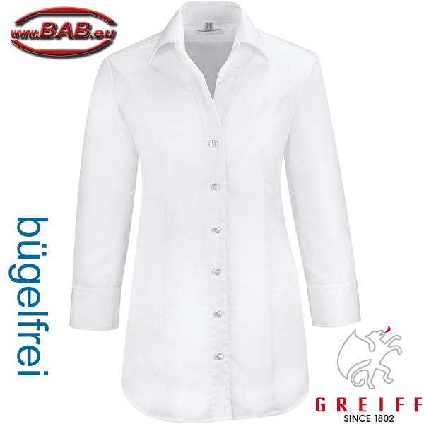 Greiff Damen Bluse Service Premium Regular Fit Modell 6520 Weiß Gr Gastro & Nahrungsmittelgewerbe 46 Neu Damenmode
