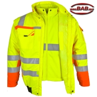 PK-WIPJ3in1 Warn-Pilotenjacke 3in1 warngelb-orange bis 4XL