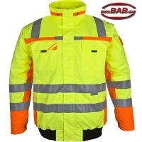 PK-WIPJ Winter-Warnschutzpilotenjacke warngelb-orange bis 4XL