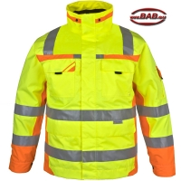 PK-WIPA Winter-Warnschutzparka warngelb-orange bis 4XL