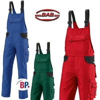 BP 1790 BPerformance Latzhose in blau,