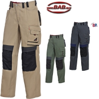 BP 1797 Comfort Plus Arbeitsbundhose in oliv, sahara, anthrazit