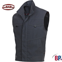 BP 1893 Workfashion Arbeitsweste in charcoal