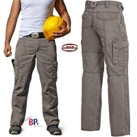BP 1885 Workfashion Bundhose in steingrau