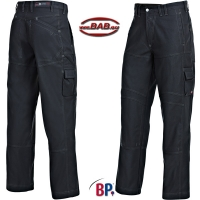 BP 1888 Workfashion Bundhose mit Stretch in schwarz