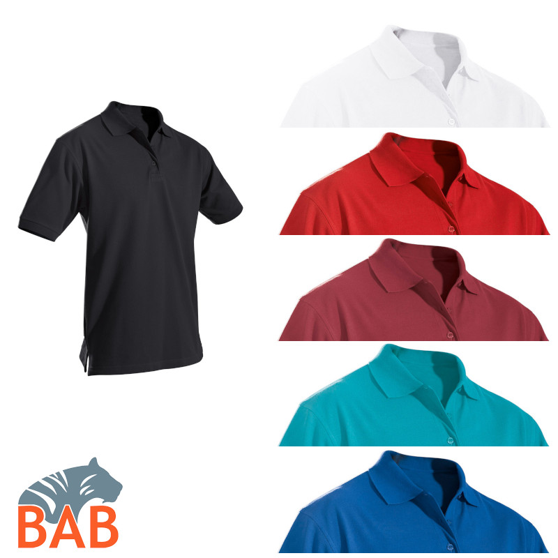 K-1546 8905 Polo-Shirt in bequemer Schnittform