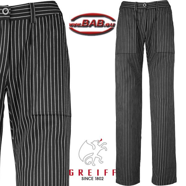 kochhosen kochhose schwarz pepita jeansform gummizug. Black Bedroom Furniture Sets. Home Design Ideas