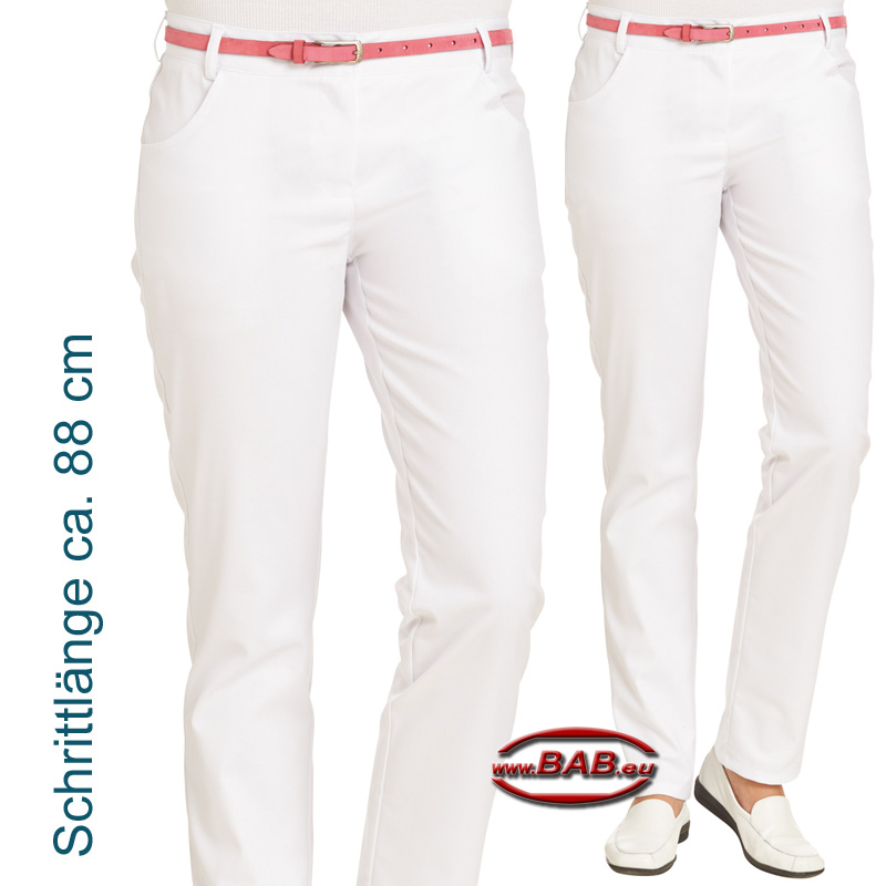 8ca7ff36f8d741 Bild vergößern Leiber Damenhose mit elastischem Bund, normale Hüftweite.  Farbe