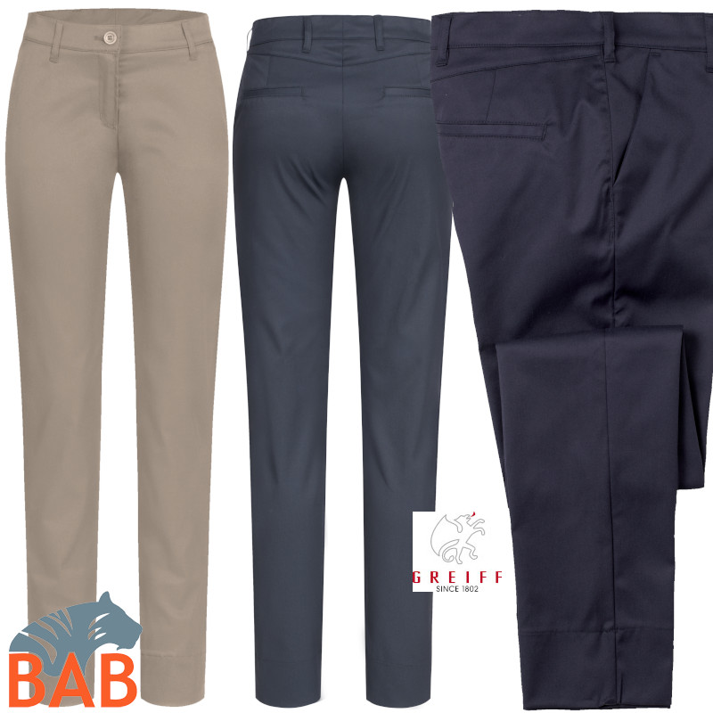Greiff 1328 Chino für Damen in Regular Fit, elastisch
