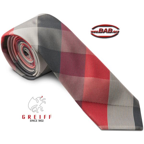 bd45da561872a2 Bild vergößern Greiff 6918 Karierte Krawatte zur Businesskleidung Herren