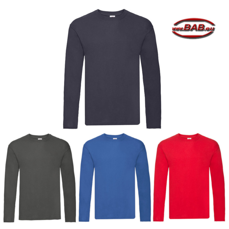 Langarm Herren Shirt für Altenpfleger in navy, royal, light grap
