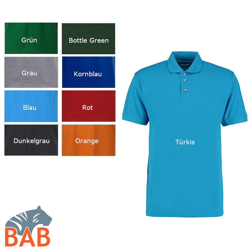 Workwear Polo Superwash bis Gr. 3XL