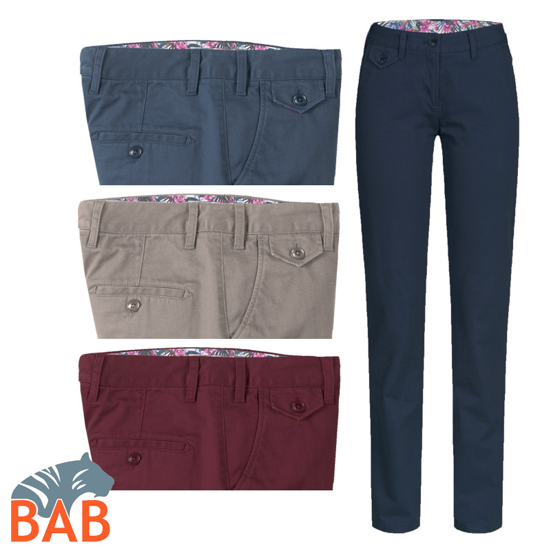 Greiff Casual 1376 Damen Chino mit Stretch